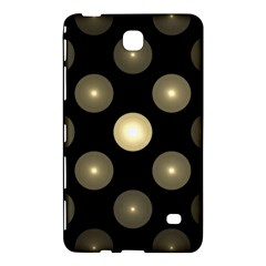 Gray Balls On Black Background Samsung Galaxy Tab 4 (7 ) Hardshell Case
