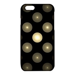 Gray Balls On Black Background iPhone 6/6S TPU Case