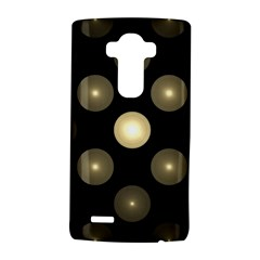 Gray Balls On Black Background LG G4 Hardshell Case