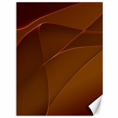Brown Background Waves Abstract Brown Ribbon Swirling Shapes Canvas 36  X 48