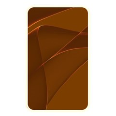 Brown Background Waves Abstract Brown Ribbon Swirling Shapes Memory Card Reader