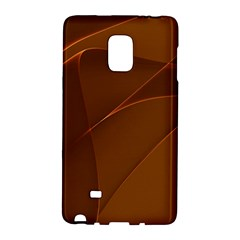 Brown Background Waves Abstract Brown Ribbon Swirling Shapes Galaxy Note Edge