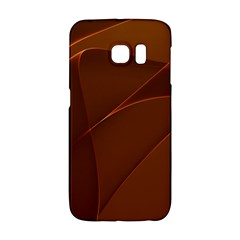 Brown Background Waves Abstract Brown Ribbon Swirling Shapes Galaxy S6 Edge