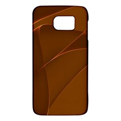 Brown Background Waves Abstract Brown Ribbon Swirling Shapes Galaxy S6