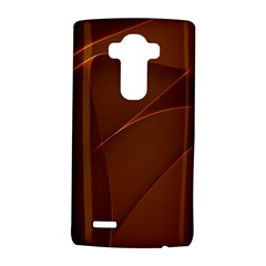 Brown Background Waves Abstract Brown Ribbon Swirling Shapes Lg G4 Hardshell Case