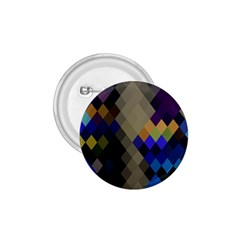 Background Of Blue Gold Brown Tan Purple Diamonds 1.75  Buttons