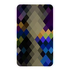 Background Of Blue Gold Brown Tan Purple Diamonds Memory Card Reader