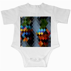 Diamond Abstract Background Background Of Diamonds In Colors Of Orange Yellow Green Blue And More Infant Creepers