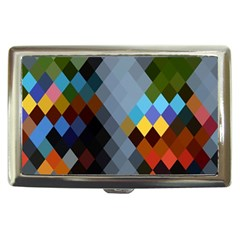Diamond Abstract Background Background Of Diamonds In Colors Of Orange Yellow Green Blue And More Cigarette Money Cases