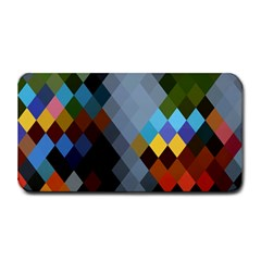 Diamond Abstract Background Background Of Diamonds In Colors Of Orange Yellow Green Blue And More Medium Bar Mats