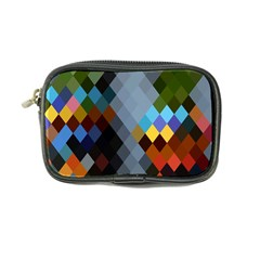 Diamond Abstract Background Background Of Diamonds In Colors Of Orange Yellow Green Blue And More Coin Purse