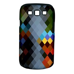 Diamond Abstract Background Background Of Diamonds In Colors Of Orange Yellow Green Blue And More Samsung Galaxy S Iii Classic Hardshell Case (pc+silicone)