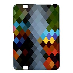Diamond Abstract Background Background Of Diamonds In Colors Of Orange Yellow Green Blue And More Kindle Fire HD 8.9