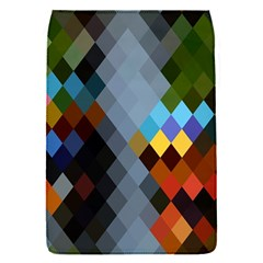 Diamond Abstract Background Background Of Diamonds In Colors Of Orange Yellow Green Blue And More Flap Covers (S)