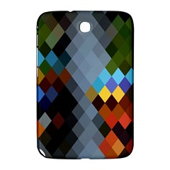 Diamond Abstract Background Background Of Diamonds In Colors Of Orange Yellow Green Blue And More Samsung Galaxy Note 8.0 N5100 Hardshell Case
