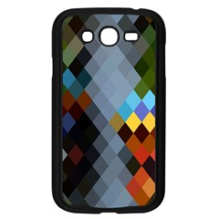 Diamond Abstract Background Background Of Diamonds In Colors Of Orange Yellow Green Blue And More Samsung Galaxy Grand Duos I9082 Case (black)