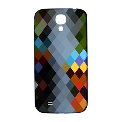 Diamond Abstract Background Background Of Diamonds In Colors Of Orange Yellow Green Blue And More Samsung Galaxy S4 I9500/i9505  Hardshell Back Case