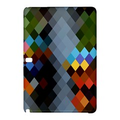Diamond Abstract Background Background Of Diamonds In Colors Of Orange Yellow Green Blue And More Samsung Galaxy Tab Pro 12.2 Hardshell Case