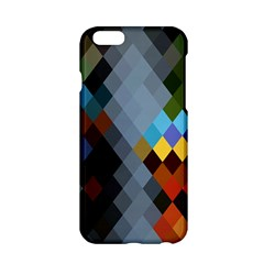 Diamond Abstract Background Background Of Diamonds In Colors Of Orange Yellow Green Blue And More Apple Iphone 6/6s Hardshell Case