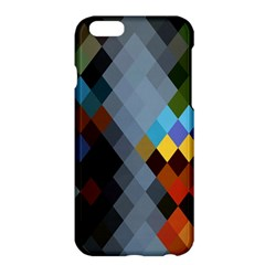 Diamond Abstract Background Background Of Diamonds In Colors Of Orange Yellow Green Blue And More Apple Iphone 6 Plus/6s Plus Hardshell Case