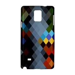 Diamond Abstract Background Background Of Diamonds In Colors Of Orange Yellow Green Blue And More Samsung Galaxy Note 4 Hardshell Case
