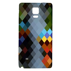 Diamond Abstract Background Background Of Diamonds In Colors Of Orange Yellow Green Blue And More Galaxy Note 4 Back Case