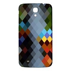 Diamond Abstract Background Background Of Diamonds In Colors Of Orange Yellow Green Blue And More Samsung Galaxy Mega I9200 Hardshell Back Case