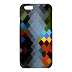 Diamond Abstract Background Background Of Diamonds In Colors Of Orange Yellow Green Blue And More iPhone 6/6S TPU Case