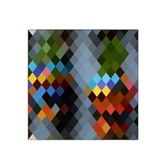 Diamond Abstract Background Background Of Diamonds In Colors Of Orange Yellow Green Blue And More Satin Bandana Scarf