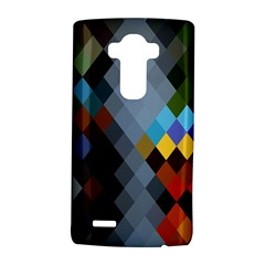 Diamond Abstract Background Background Of Diamonds In Colors Of Orange Yellow Green Blue And More LG G4 Hardshell Case