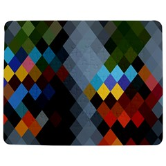 Diamond Abstract Background Background Of Diamonds In Colors Of Orange Yellow Green Blue And More Jigsaw Puzzle Photo Stand (Rectangular)
