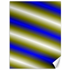 Color Diagonal Gradient Stripes Canvas 36  x 48
