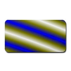 Color Diagonal Gradient Stripes Medium Bar Mats