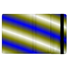 Color Diagonal Gradient Stripes Apple Ipad 2 Flip Case