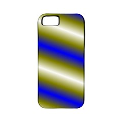 Color Diagonal Gradient Stripes Apple Iphone 5 Classic Hardshell Case (pc+silicone)