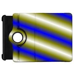 Color Diagonal Gradient Stripes Kindle Fire Hd 7