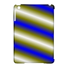 Color Diagonal Gradient Stripes Apple Ipad Mini Hardshell Case (compatible With Smart Cover)