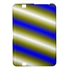 Color Diagonal Gradient Stripes Kindle Fire HD 8.9