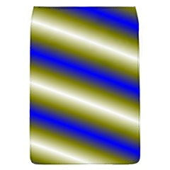 Color Diagonal Gradient Stripes Flap Covers (L)