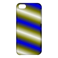 Color Diagonal Gradient Stripes Apple iPhone 5C Hardshell Case