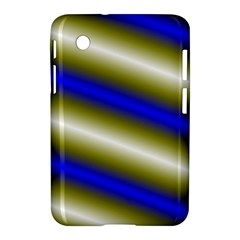 Color Diagonal Gradient Stripes Samsung Galaxy Tab 2 (7 ) P3100 Hardshell Case