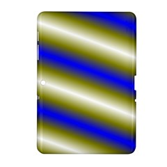 Color Diagonal Gradient Stripes Samsung Galaxy Tab 2 (10 1 ) P5100 Hardshell Case