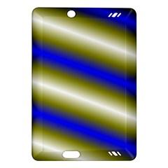 Color Diagonal Gradient Stripes Amazon Kindle Fire HD (2013) Hardshell Case