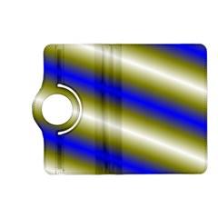 Color Diagonal Gradient Stripes Kindle Fire HD (2013) Flip 360 Case