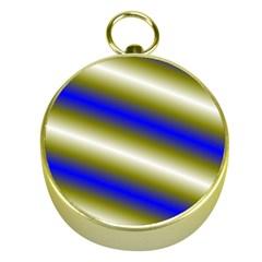 Color Diagonal Gradient Stripes Gold Compasses