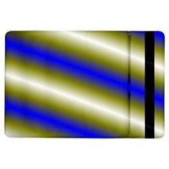 Color Diagonal Gradient Stripes Ipad Air Flip