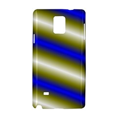Color Diagonal Gradient Stripes Samsung Galaxy Note 4 Hardshell Case