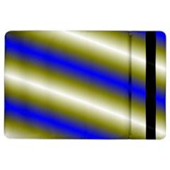 Color Diagonal Gradient Stripes iPad Air 2 Flip