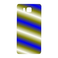 Color Diagonal Gradient Stripes Samsung Galaxy Alpha Hardshell Back Case