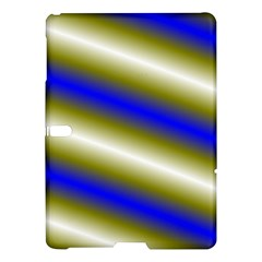 Color Diagonal Gradient Stripes Samsung Galaxy Tab S (10.5 ) Hardshell Case